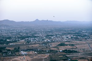 Landscape of Pushkar