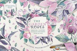 """The """"GARDEN ROSES"""" set vol.3"""