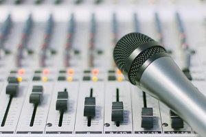Mixer & mic