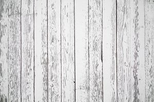 Old white wooden planks.