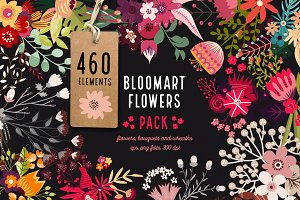 Bloomart Flowers Pack