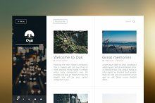 Oak - Clean & Responsive Ghost Theme by  in Ghost