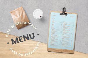 Cafe / Restaurant Menu Template