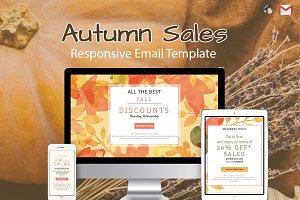 Three Autumn Sales Emails
