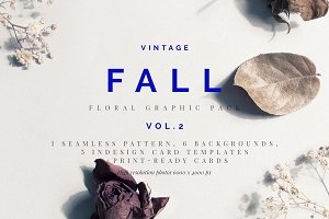 Vintage Fall - Graphic Pack - vol 2