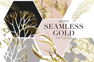 Exquisite Gold Patterns! Vol#.01