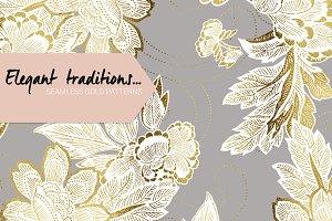 Exquisite Gold Patterns! Vol#.01