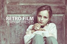 10 Retro Film Portrait Presets