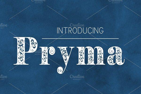 Pryma Font