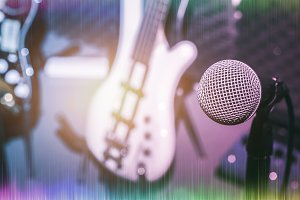 Microphone and Music band