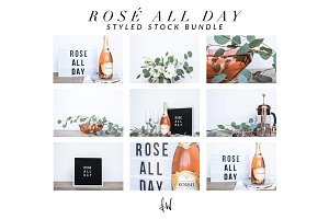 Rose All Day - Styled Photo Bundle