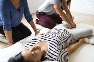 Massage therapy group training