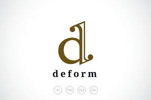 Letter D Logo Template