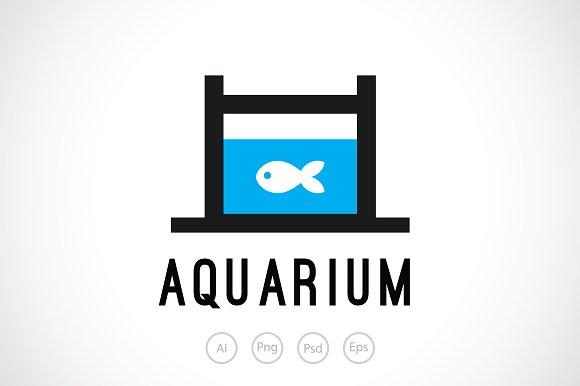 Small Aquarium Logo Template