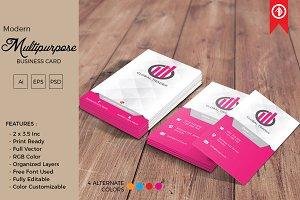 Modern Multipurpose Business Card