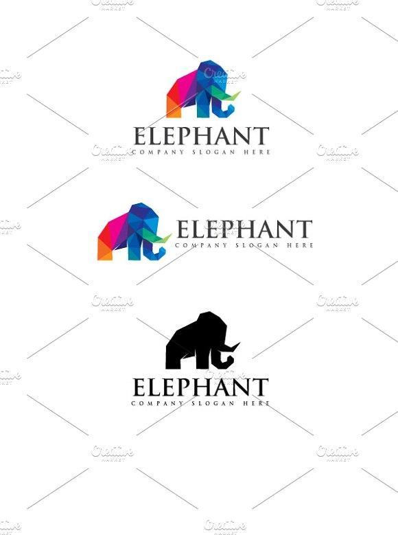 Elephant in Logo Templates