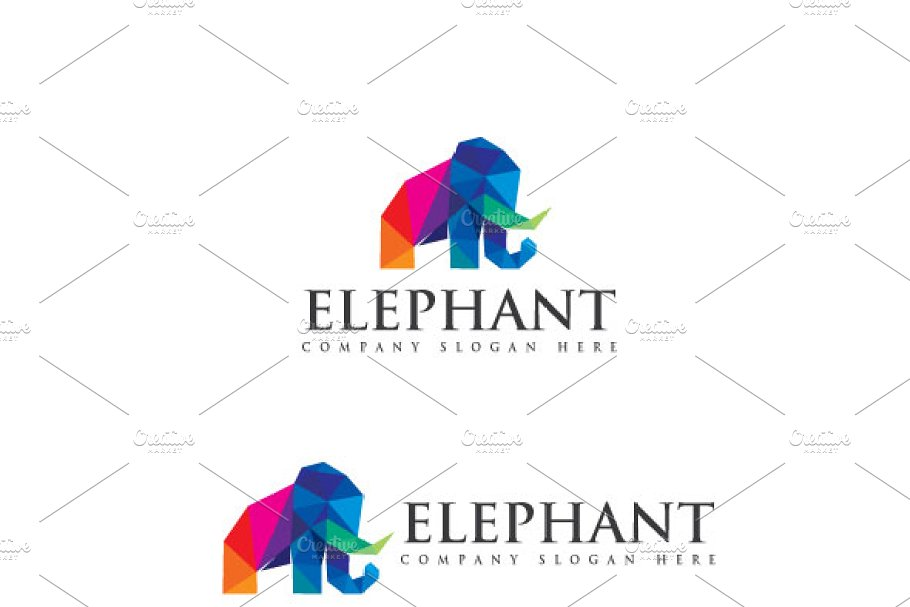 Elephant in Logo Templates - product preview 8