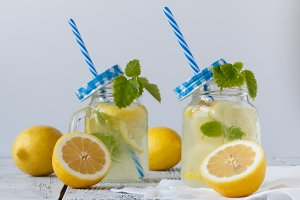 Fresh citrus lemonade