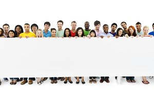 Diverse people (PNG)