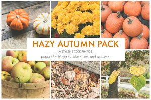 The Hazy Autumn Photo Pack