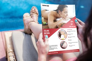 Spa Flyer Template V629