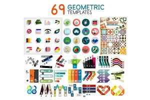 Mega collection of geometric templates