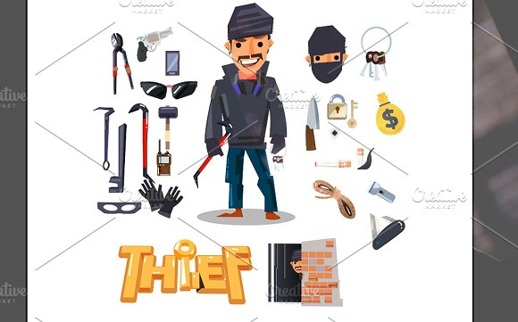 Thief! and Tools in Illustrations