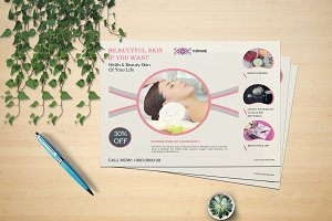 Spa & Beauty Care Flyer V630