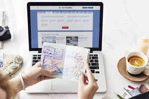 Booking flight online