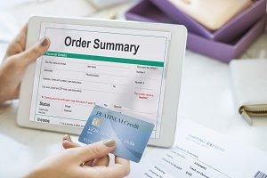 Order Summary Pay slip