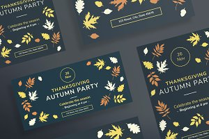 Flyers | Autumn Party