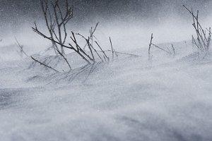 Dramatic Snowstorm