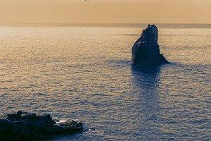 rock islet