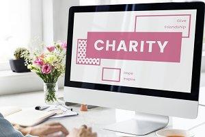 Computer Screen Charity