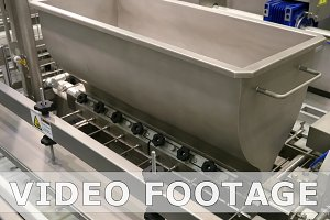 Food factory automated robotic production line