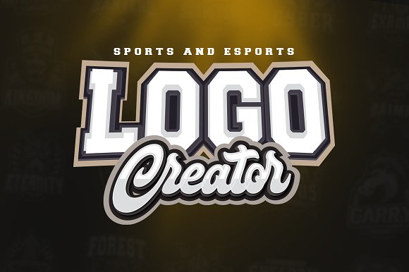 sports and esports logo creator logo templates creative market