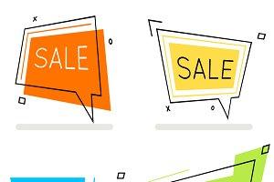 Sale frame banner