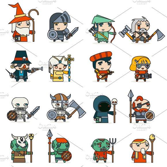 Lineart Fantasy RPG