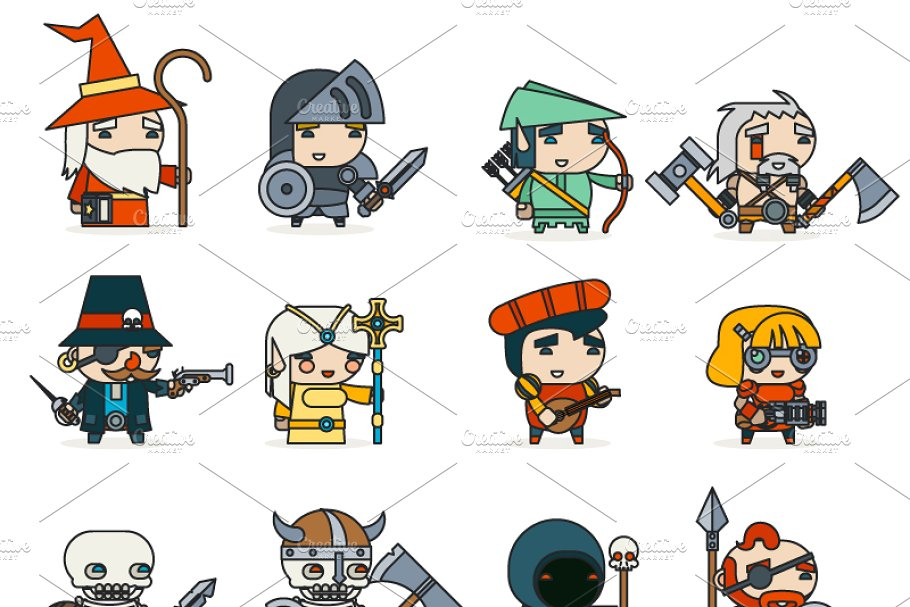 RPG Game ~ Icons ~ Creative Market