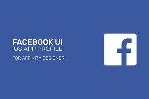 Facebook App UI