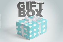 gift wrap mockup