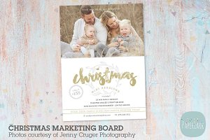IC044 Christmas Marketing Board