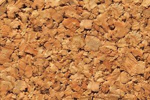 seamless brown cork texture background