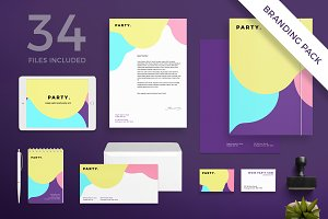 Branding Pack | Entertainment