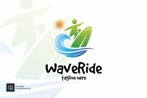 Wave Ride - Logo Template
