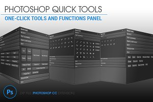 Photoshop CC Quick Tools
