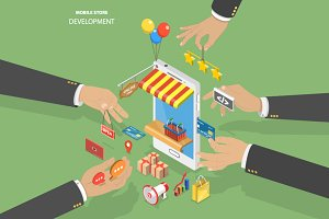 Mobile store development
