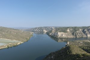 Viewpoint to the river ebro