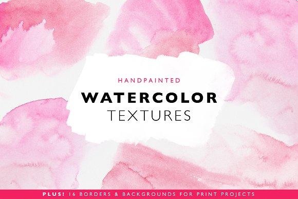 32 Watercolor Textures & Templates ~ Textures ~ Creative Market