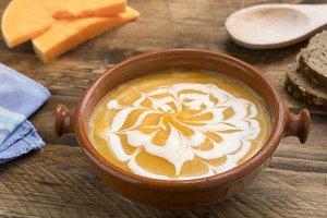 Cream of pumpkin
